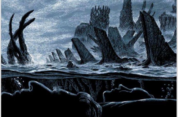 Chamado de Cthulhu - Skript Editora - Canto do Gargula - Cena do mar