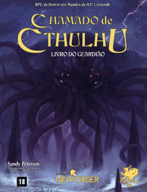 Chamado de Cthulhu - RPG - Chaosium - Editora New Order - Canto do Gargula