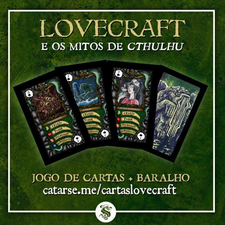 Doppel Mitos de Cthulhu - Editora Skript - Catarse - Canto do Gargula - Capa do Post